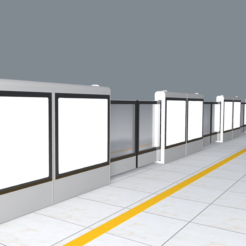 汽車站臺安全門