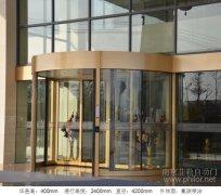 兩翼智能旋轉門案例_鑫皇國際酒店項目圖片