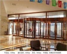 新疆哈密兩翼旋轉門案例_哈密銀河酒店會議中心項目