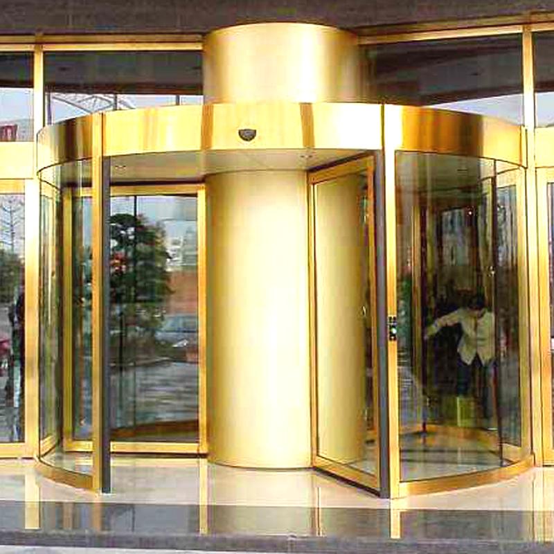 三翼環柱旋轉門圖片