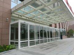 有框自動感應門---瑞安人民醫院圖片