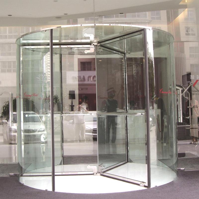 玻璃水晶旋轉門