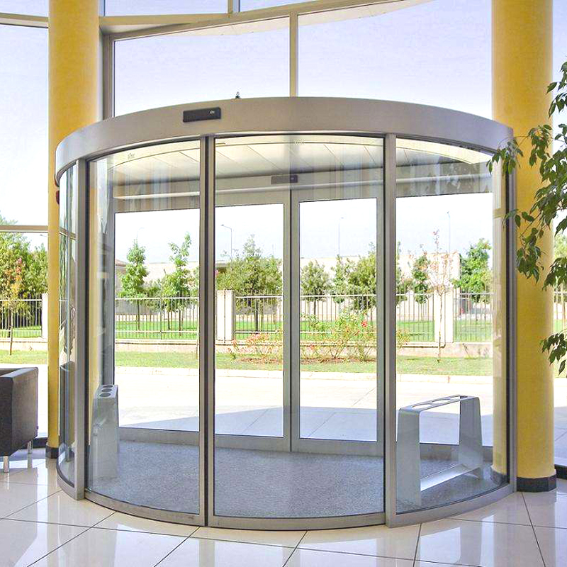 智能玻璃門