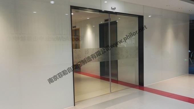 南京不銹鋼自動門圖片